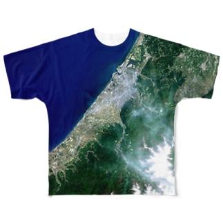 石川県 白山市 Tシャツ 両面 Full graphic T-shirts