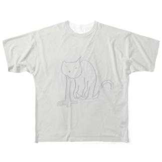 げろねこ Full graphic T-shirts