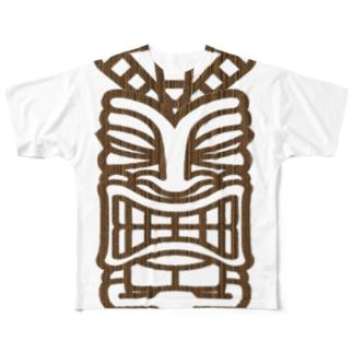 TIKI Full graphic T-shirts