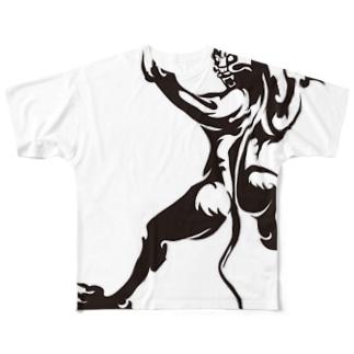 パンサーパワー! Full graphic T-shirts