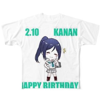 果南ちゃん Full graphic T-shirts
