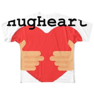 HugHeart Full graphic T-shirts