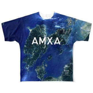 熊本県 天草市 Tシャツ 両面 Full graphic T-shirts