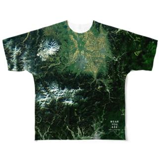 青森県 弘前市 Tシャツ 両面 Full graphic T-shirts