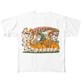 いもむしゴーゴー! Full graphic T-shirts