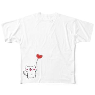 スイカちゃん Full graphic T-shirts