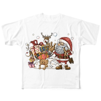 Merry Christmas! Full graphic T-shirts