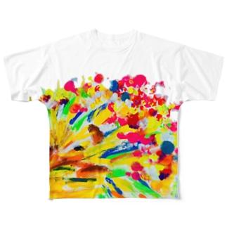 はりねずみ Full graphic T-shirts