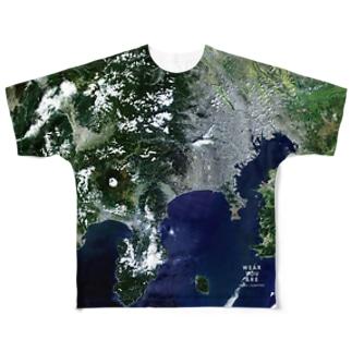 神奈川県 秦野市 Tシャツ 両面 Full graphic T-shirts