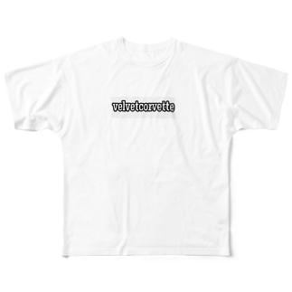 ベルヴェット&コルヴェット Full graphic T-shirts