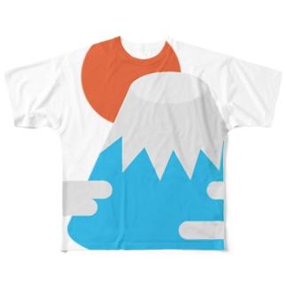 皆のFUJI Full graphic T-shirts