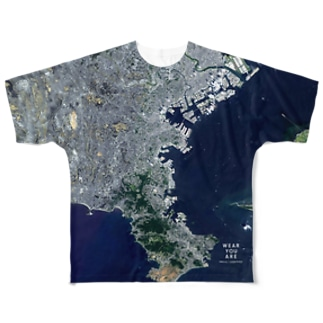 WEAR YOU AREの神奈川県 横浜市 Tシャツ 両面 Full graphic T-shirts