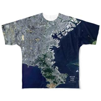 神奈川県 横浜市 Tシャツ 両面 Full graphic T-shirts