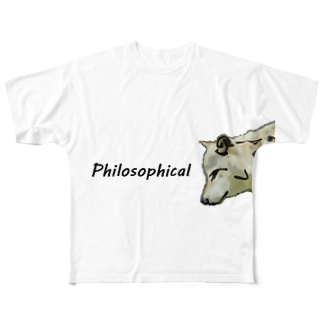 最も哲学的になるとき‗フルグラフTシャツ‗Mサイズ Full graphic T-shirts