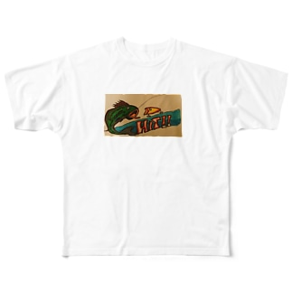グッドヒット! Full graphic T-shirts