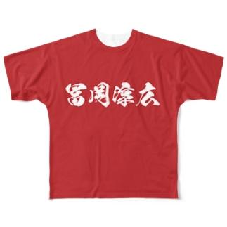 """パーフェクト""""T"""" Mk-Ⅲ RED Full graphic T-shirts"""