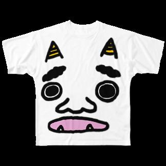 TABERU WSの鬼。 Full graphic T-shirts