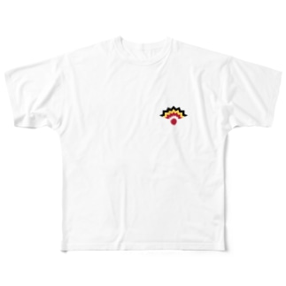 NIMAFUKU (Logo) Full graphic T-shirts