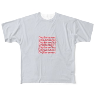 displacement Full graphic T-shirts