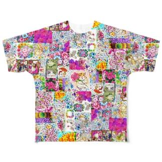 カラフルに~ フルグラフィックTシャツ
