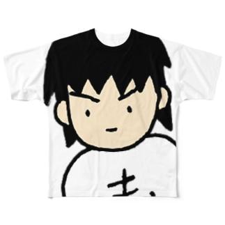 もへお みつめる Full graphic T-shirts