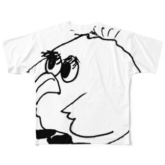 ビッグ おばーど Full graphic T-shirts