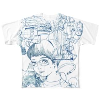 Nakagawa-MK5 Full graphic T-shirts