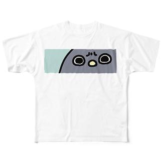 -//*機嫌の悪いペンギン Full graphic T-shirts