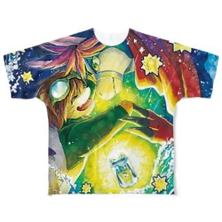 プレ脚#12 Tシャツ Full graphic T-shirts
