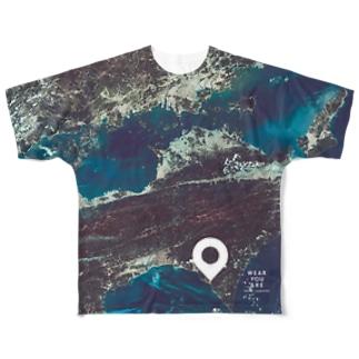 高知県 安芸郡 Tシャツ 両面 Full graphic T-shirts