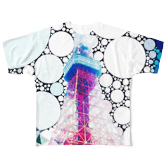 rouxのMysterious Tokyo Full graphic T-shirts