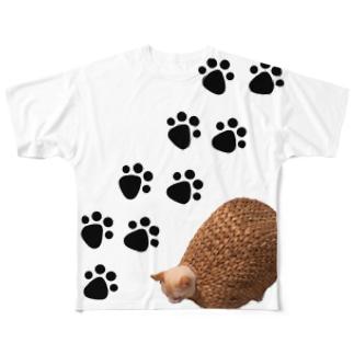 亀葱 Full graphic T-shirts