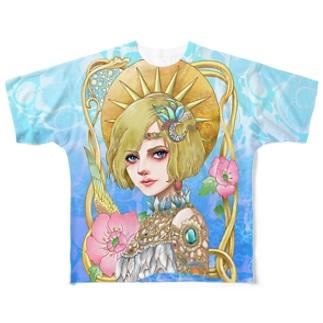 ゴージャスフルグラT Full graphic T-shirts