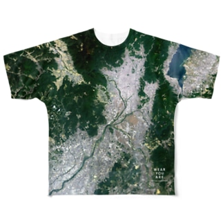 WEAR YOU AREの京都府 長岡京市 Tシャツ 両面 Full graphic T-shirts