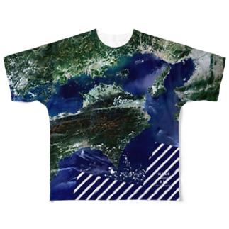 徳島県 美馬市 Tシャツ 両面 Full graphic T-shirts