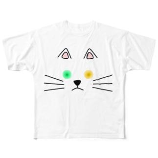 オッドアイ Full graphic T-shirts
