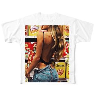 ストリートグッズ Full graphic T-shirts