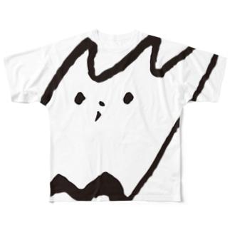 NORANEKO DESIGN Full graphic T-shirts