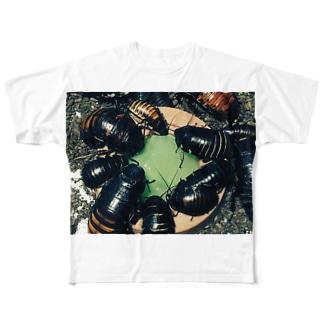 マダガスカルゴキブリ Full graphic T-shirts