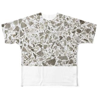 "WALL ""HIROSHIMA"" Full graphic T-shirts"