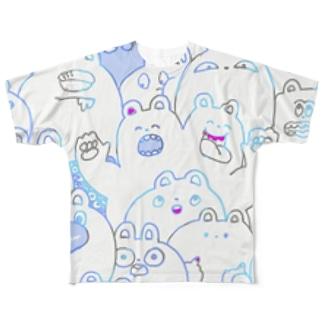 魑魅魍魎ズ Full graphic T-shirts
