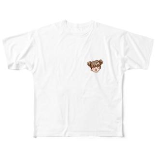 べーっ Full graphic T-shirts
