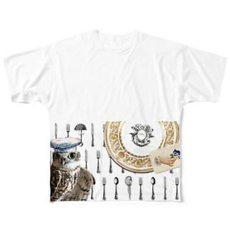 ピーポシェフのこだわり Full graphic T-shirts