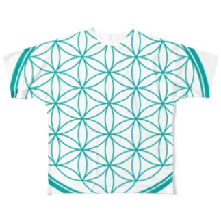 flower of life A Full graphic T-shirts