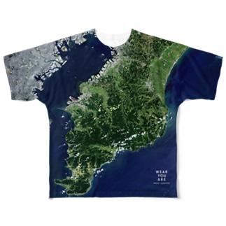 千葉県 君津市 Tシャツ 両面 Full graphic T-shirts