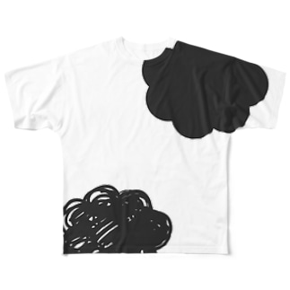 AMAGUMO コンビ Full graphic T-shirts