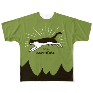 Let's go adventure Full graphic T-shirts