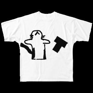 ねこみ屋さんのねこみT Full graphic T-shirts