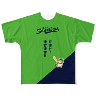 東京Sparrows Full graphic T-shirts