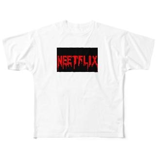 NEETFLIX LOGO-3 Full graphic T-shirts